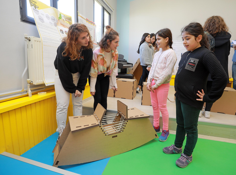 Yaşar Üniversitesi İç Mimarlık ve Çevre Tasarımı Öğrencileri_Haber İçi Görsel